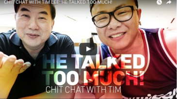 SEO Singapore Consultant First YouTube Appearance